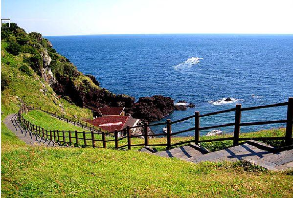 Jeju island in south Korea