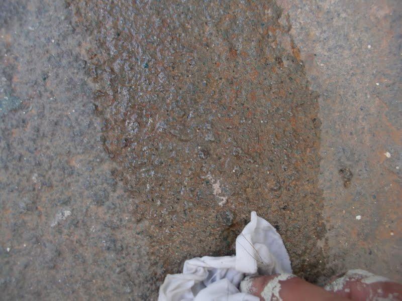 Aprende con tu amigo luis quitar pintura del suelo de piedra for Pintura para piedras