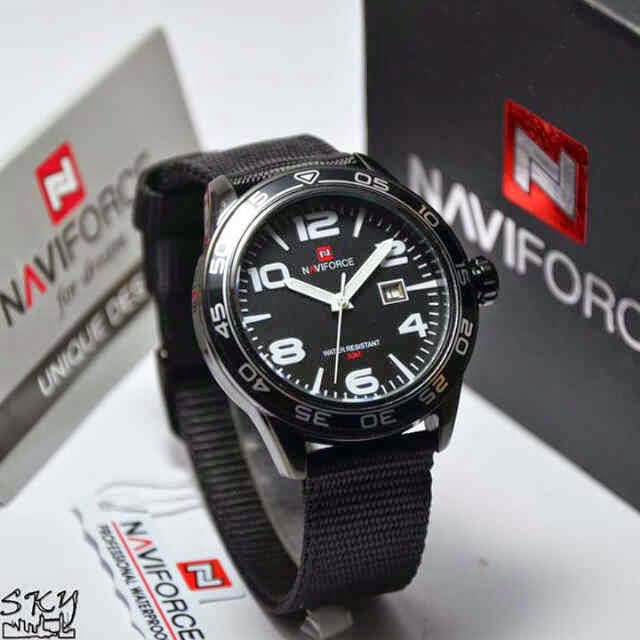 Naviforce 9032 Hitam Putih