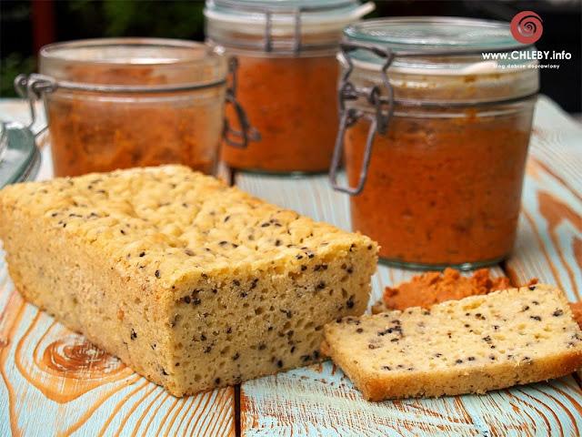 Bezglutenowy chleb ryżowo-kukurydziany