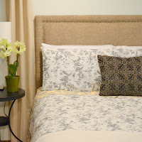 DIY Upholstered Guest Headboard