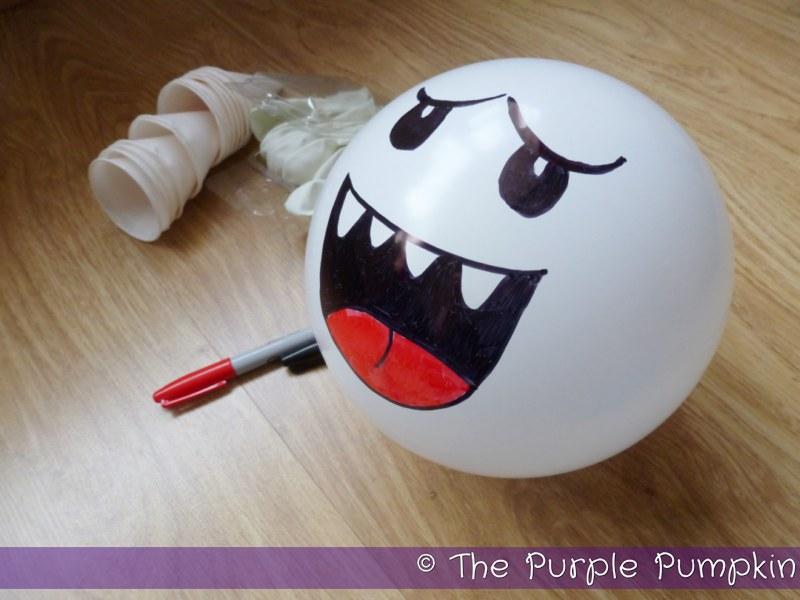 Boo Balloon Decorations Nintendo Party