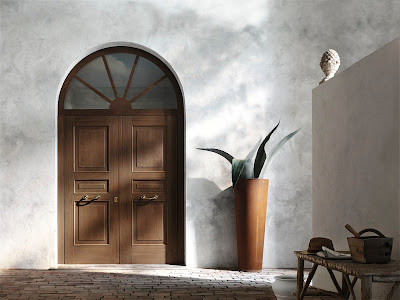 puerta entrada principal madera