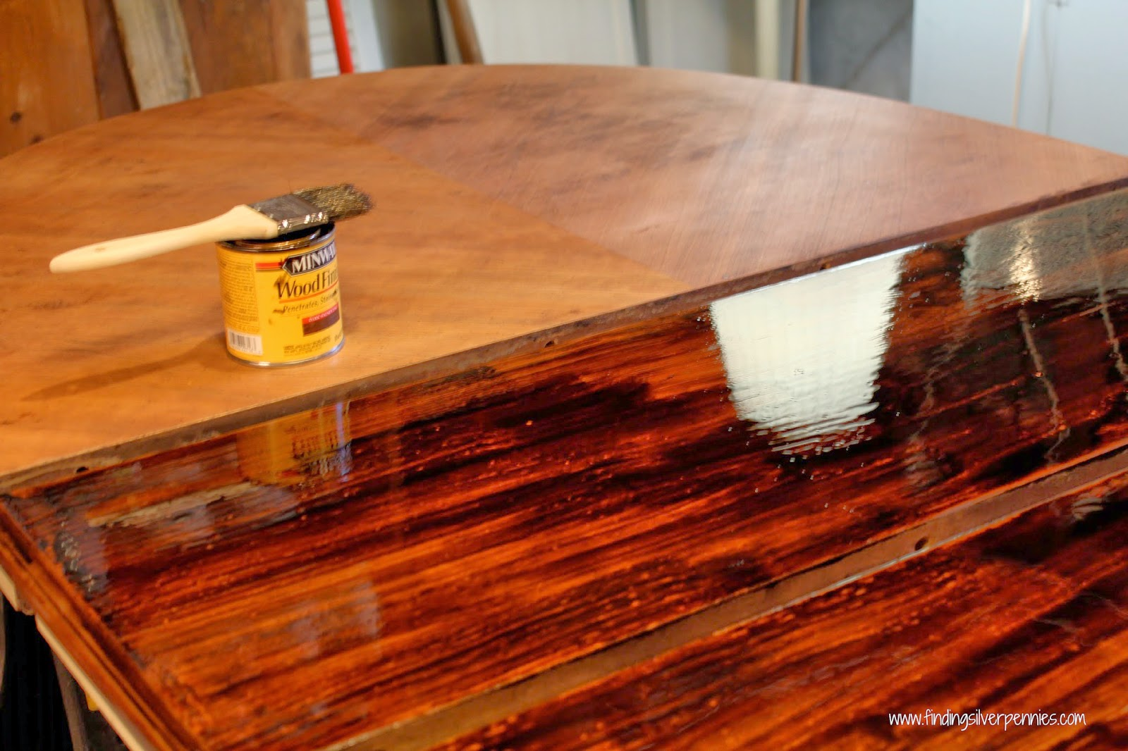Staining furniture 101 finding silver pennies for Furniture 101