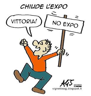 expo, satira vignetta