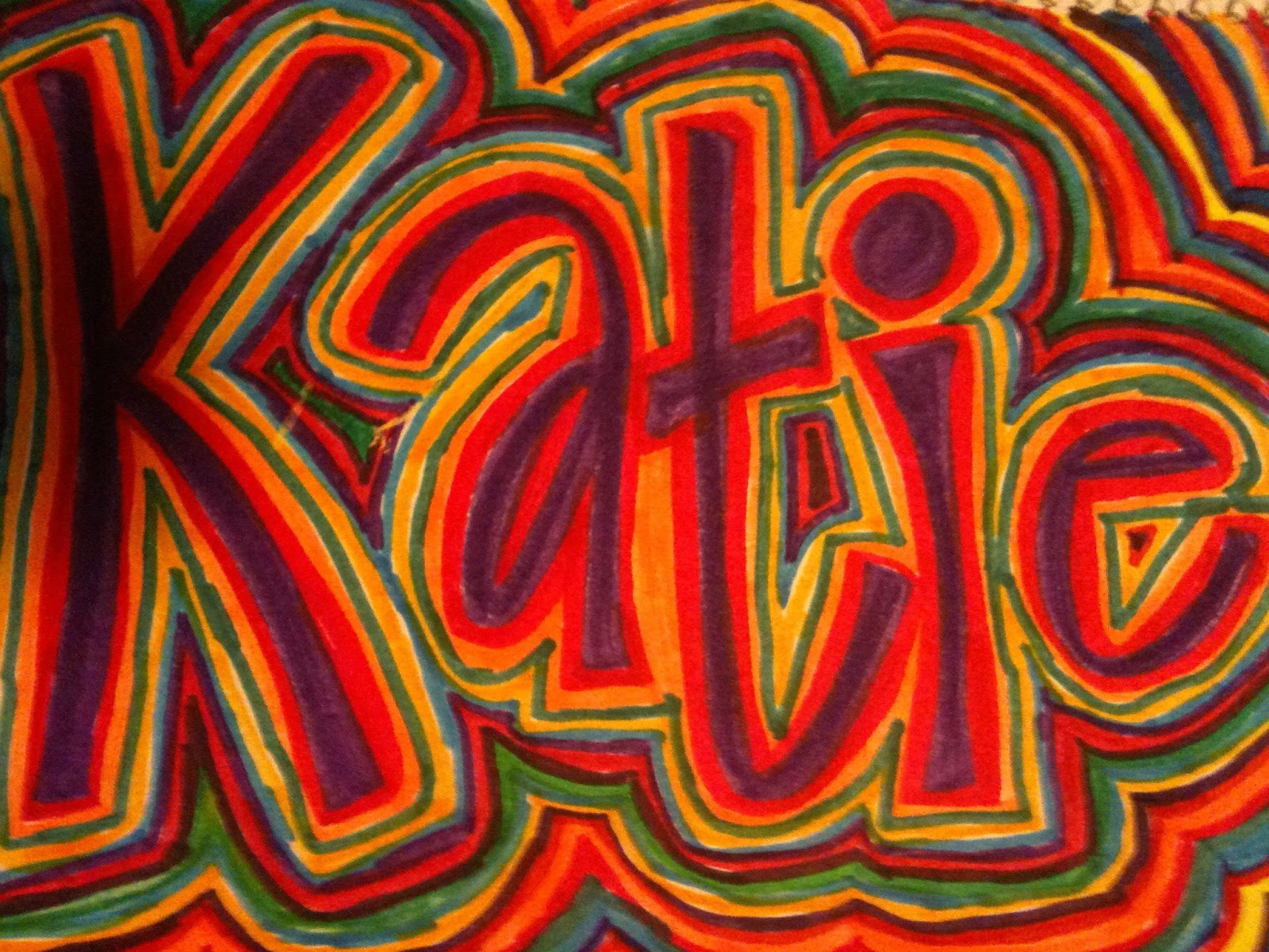 Name Design Art : Name projects art teachers give a hoot