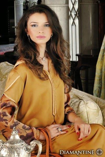 djellaba marocaine femme moderne