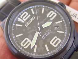 SEIKO SPIRIT SMART NANO UNIVERSE BLACK CAMOE DIAL - SEIKO SCVE037 - LIMITED EDITION 120 / 500