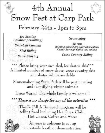 2-24 4Th Annual Snow Fest