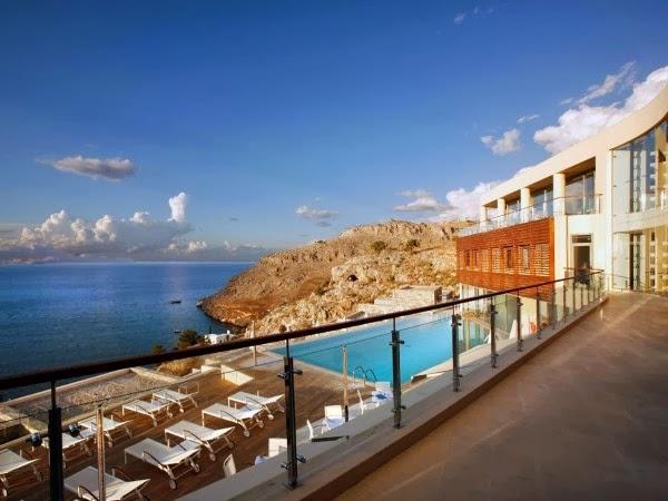 Lindos Blu. Lindos (Grecia)
