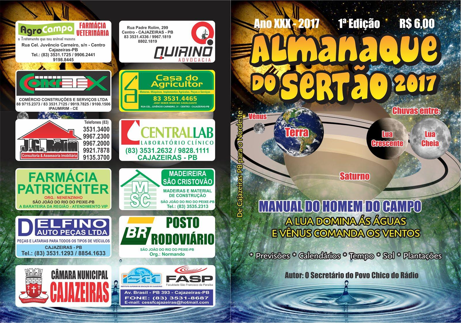 O MANUAL DO HOMEM DO CAMPO  LIVRO DE PREVISÃO DO TEMPO