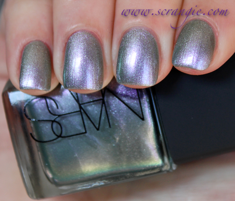 Scrangie: NARS Disco Inferno Nail Polish Spring 2013 Swatches and Review