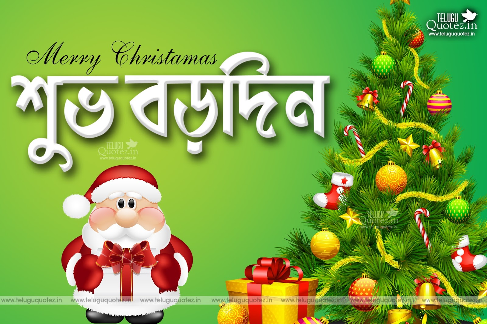 Bengali christmas greetings and wishes quotes