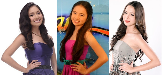 ABS-CBN Primetime Princesses - Kathryn Bernardo, Ella Cruz and Julia Montes