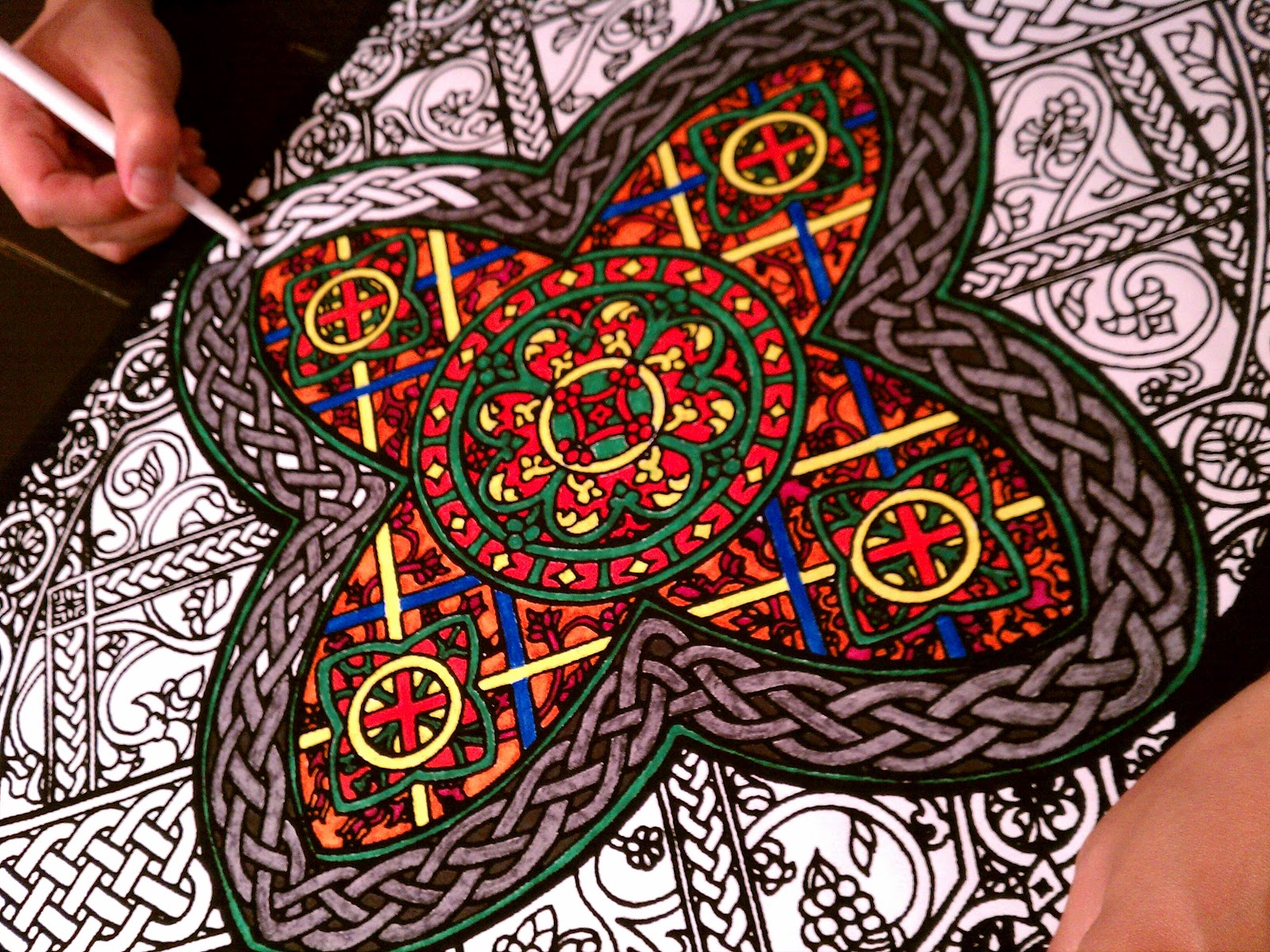original doodle art coloring posters yes admit it you ve always wanted to color one - Posters To Color