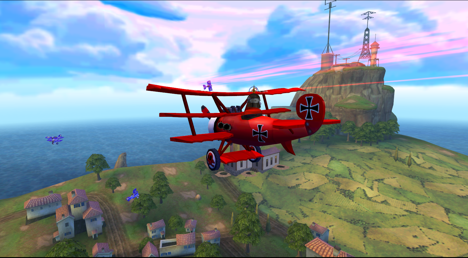 free red baron game
