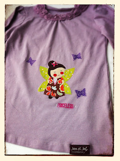 Camiseta Infantil de Jan et Jul