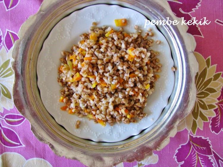 Karabuğday-Pilavı