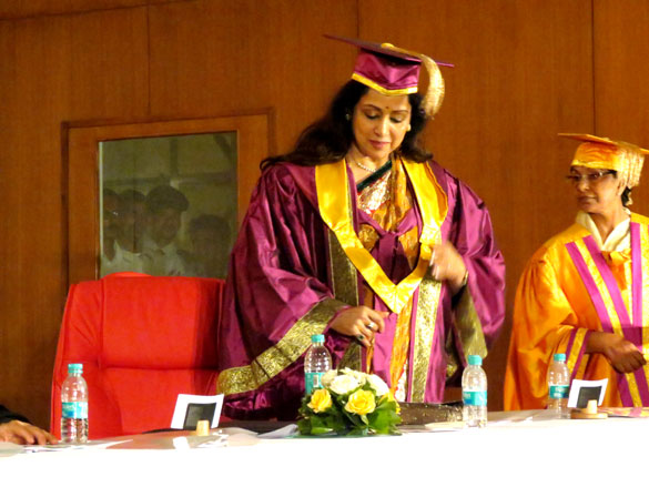 Hema Malini gets her Honorary Doctorate