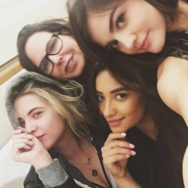 PLL Cast Ashley Benson, Shay Mitchell, Lucy Hale and Marlene King