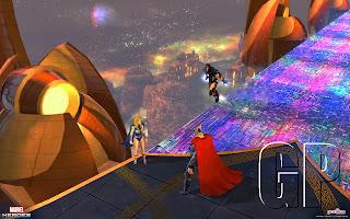 marvel heroes screen 4 Marvel Heroes (PC)   Game Update 2.0 Asgard Screenshots