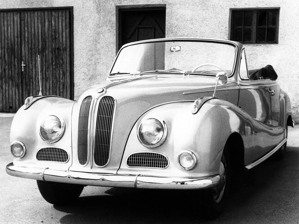 Baurspotting: BMW 502 Cabrio by Baur \'1954–56