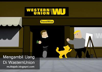 Cara mengambil uang melalui wastern union
