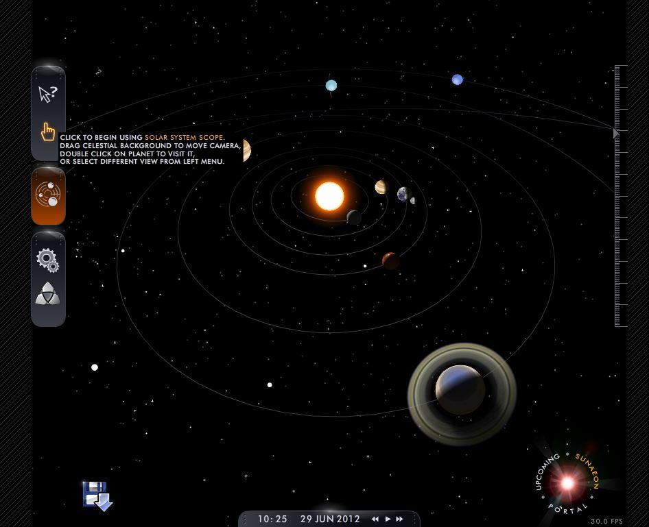 online 3d solar system explore - photo #28