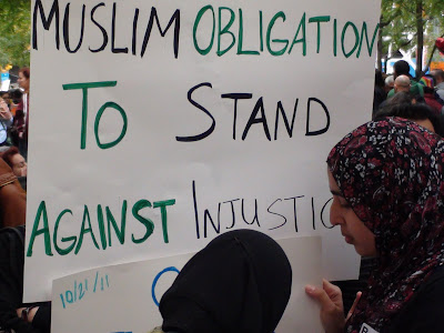 Muslims Occupy Wall St for Friday Prayer! ~ Preview