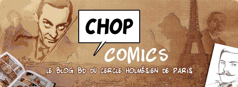 Sherlock comics CHOP