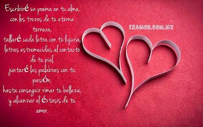 Poemas para demostrar el amor que sentimos