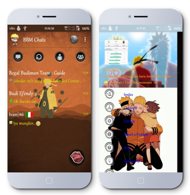 Download BBM Mod Themes Naruto Minimalis Download BBM Mod Themes Naruto Minimalis