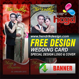 Free Download Vector Undangan Pernikahan Cdr | Wedding Photo