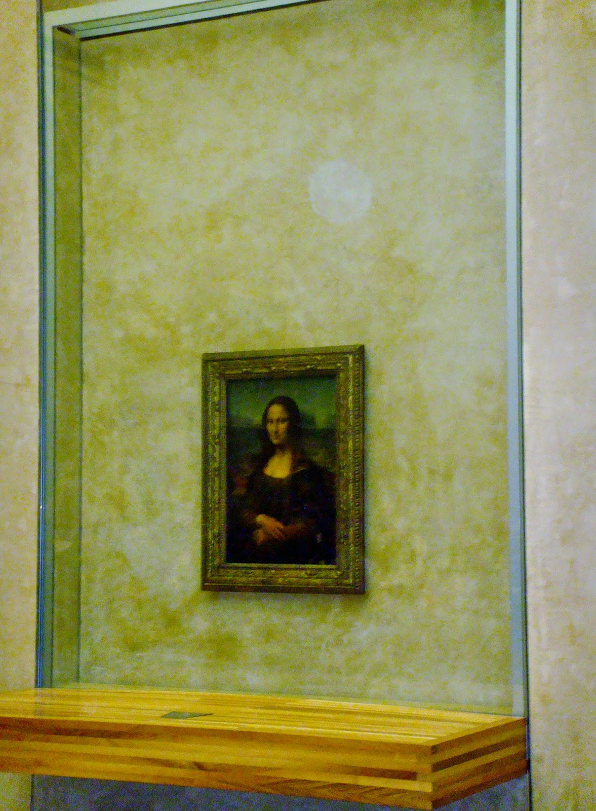 The Mona Lisa Louvre Paris
