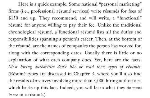 resume writers digest why i can t recommend tony beshara s book