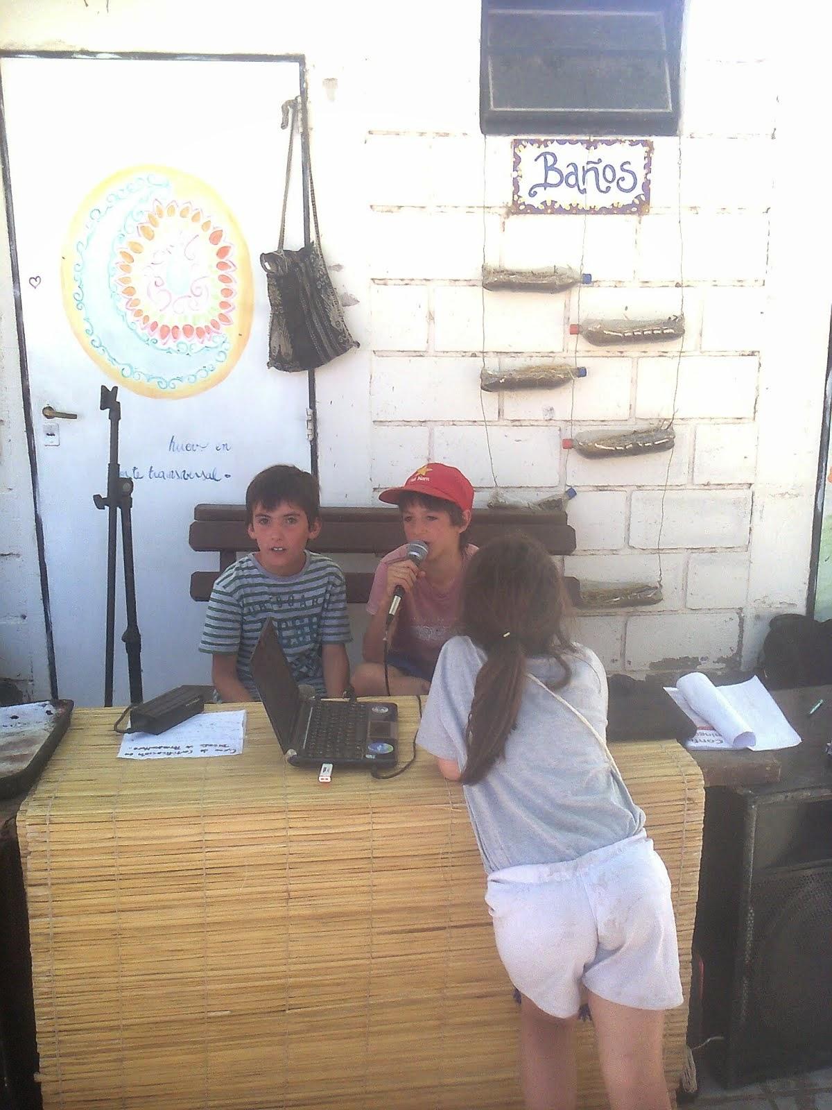 Radio Abierta en el 4 Encuentro de Permacultura