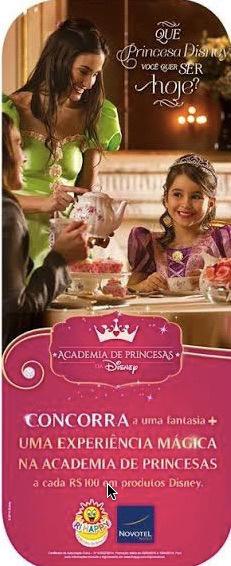 Participar da nova promoção Ri Happy 2015 Academia de Princesas Disney