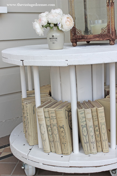 cool diy pallet  spool projects  cottage market