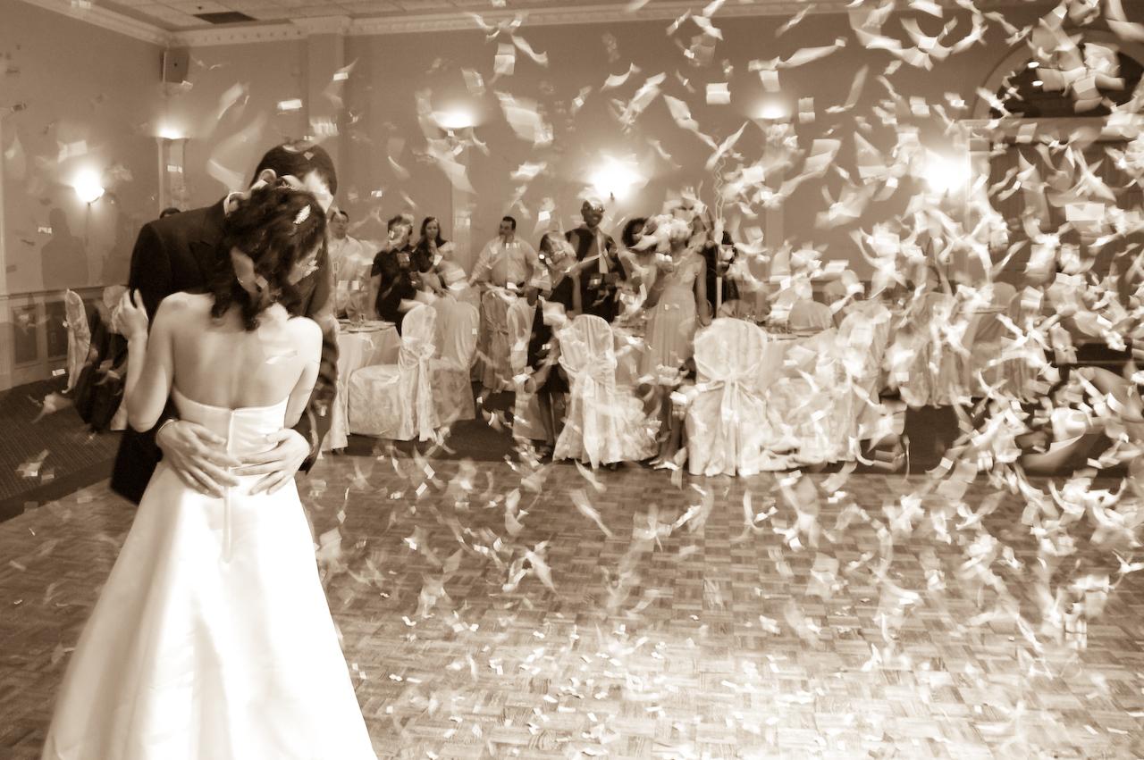 Beautiful Dresses Musical Wedding Themes
