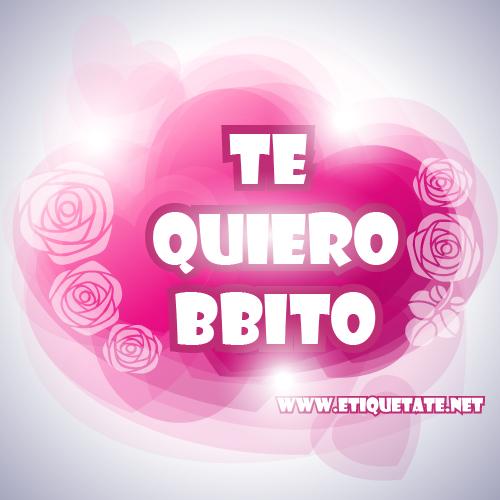 Te Quiero Bebita y Bebito - Imagenes para etiquetar en Facebook