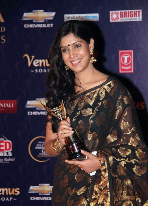 Sakshi tanwar at Apsara Awards1 - Sakshi tanwar at Apsara Awards 2012