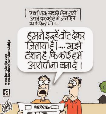 bjp cartoon, narendra modi cartoon, election 2014 cartoons, voter, cartoons on politics, indian political cartoon