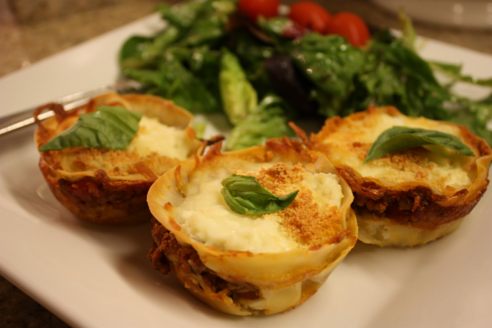 Lasagna Cupcakes Recipes — Dishmaps