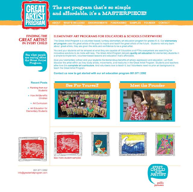 Web de Great Artists Program