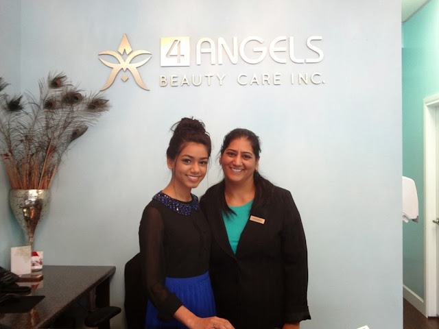 Sifti and Navkiran of 4 Angels Beauty Care Inc in Vancouver