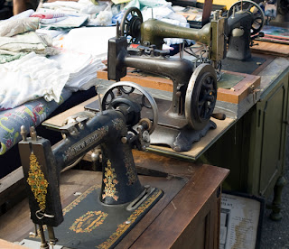 Ornate Old Sewing Machines