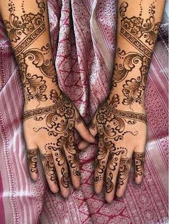 Latest Mehndi Designs 2011