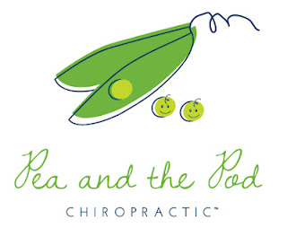 Pea and the Pod Chiropractic logo