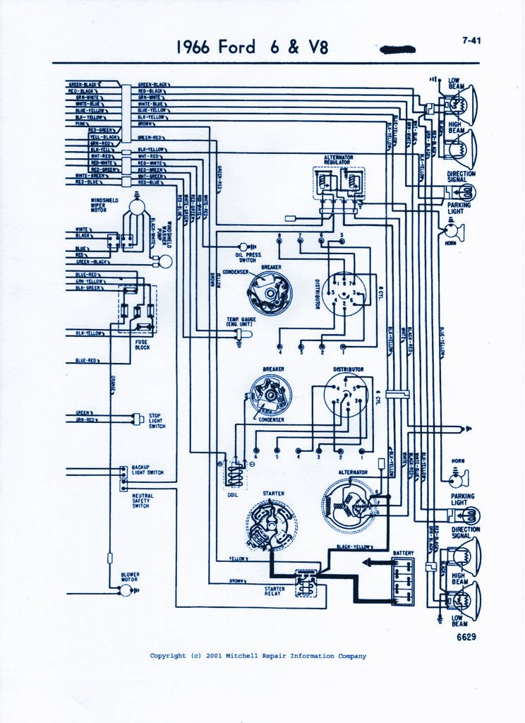 1983 Ford Thunderbird Wiring Diagram