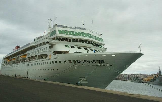 Turismo de cruceros en gran canaria agosto 2011 for Oficina fred olsen santa catalina